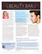 The Beauty Bar, Skin Care newsletter from New York Laser & Skin Care Fall 2011